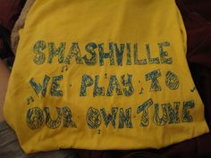 #mysmashville smashville we play to our own tune! http://www.youtube.com/watch?v=Nc1YtYhaLaY=plcp