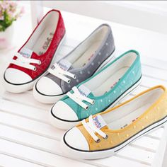 Online Shop 2014 New casual shoes flats for women Summer new arrival shallow mouth flat shoes fashion casual female shoes canvas sneakers|Aliexpress Mobile
