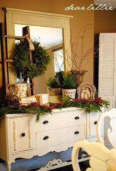 Jamie and Josh's Christmas Dining Room and a SALE by Dear Lillie