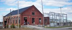 Traction and Electrical Power Station (defunct, now a designated historical site/building) - Bay City, MI.