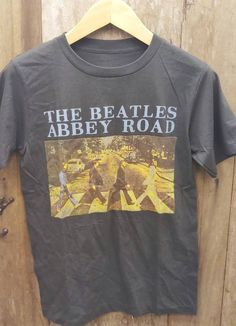 Your place to buy and sell all things handmade Types Of Cotton Fabric, Vintage Band T Shirts, Arm Pit Stains, Last Stitch, Abbey Road, Graphic Shirts, The Beatles, Vintage Inspired, Band Tees