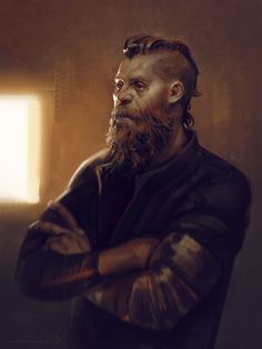 ArtStation - Viking , Ayran Oberto