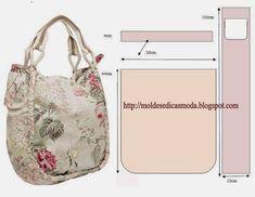 Nesta página pode encontrar diversos acessórios de moda com os desenhos e as medidas para poder fazer os moldes. Há acessórios de moda que são fundamentais