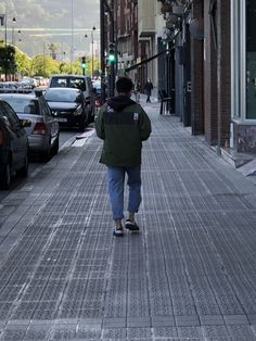 Khaki Jacket, Street View, Jackets, Down Jackets, Jacket