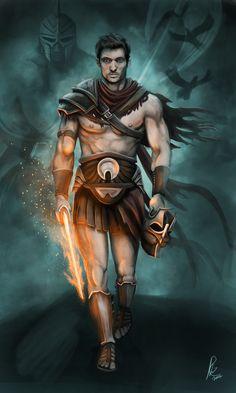Perseus: Hero who slayed the kraken and Medusa.