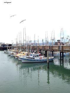 San Francisco - boats at the wharf. California Colors, Boats, San Francisco, Boating, Ships, Boat, Ship