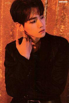 #EXO #EXO_LOTTO #BAEKHYUN Lotto Photobook