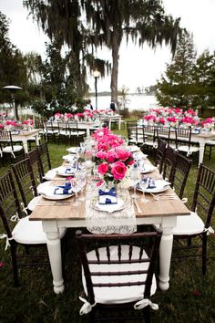 Orlando Wedding at Cypress Grove Estate House from Posh Parties & Paper  Read more - http://www.stylemepretty.com/2012/10/12/orlando-wedding-at-cypress-grove-estate-house-from-posh-parties-paper/