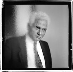 Jacques Derrida (1930-2004) French philosopher, born in French Algeria. Photo © Gerard Rondeau
