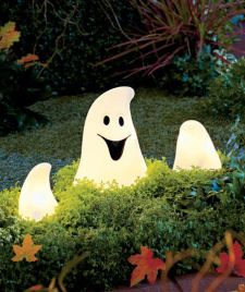Lighted Ghostly Ground Breaker | ABC Distributing