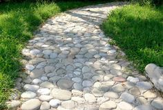 fotos de jardines con piedras1