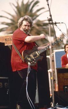 Jerry Garcia photo by Susana Millman