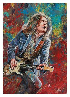 Rory Gallagher by Tom Noll