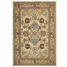 Home Decorators Collection Charisma Butter Pecan 8 ft. x 10 ft. Area Rug-406356 at The Home Depot