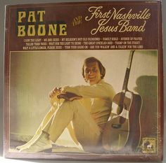 Pat Boone and the First Nashville Jesus Band 1972 Vinyl