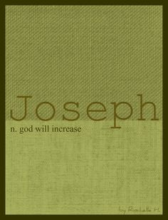 Joseph name meaning
