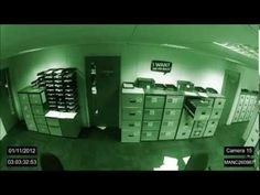 Paranormal Activity In An Office Caught On Security Cameras