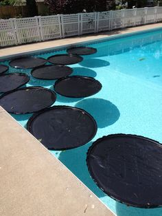 Use Black Trash Bags To Heat Pool Pool Heaters Diy