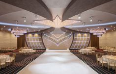 Allure Banquet Grand Ballroom by Daniely Design Group