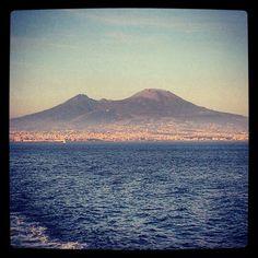 Vesuvio, symbol of Naples