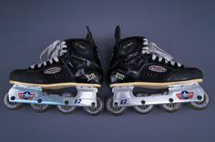 MISSION CONTROL XI E2 US HOCKEY RESEARCH SKATES 5.3 STIFFNESS ~ SIZE 9 ~ L@@K! | Sporting Goods, Outdoor Sports, Inline & Roller Skating | eBay!