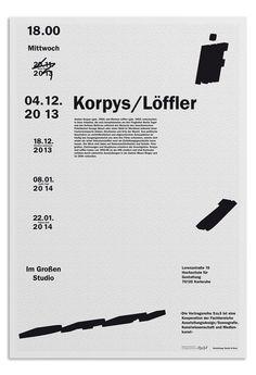 poster design // http://yannick-nuss.de/