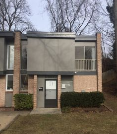 Montclair Manor, a complex of 64 mid-century modern flat-roof townhomes in Wheaton, was designed by local firm Bucher-Meyers & Associates and built in 1966.