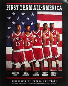 Runnin Rebels Unlv Basketball History Legends Is Life