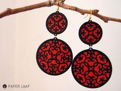 Samarcanda | paper earrings | By Paper Leaf