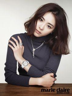 S.Korean actress Lee Yeon-hee-hee for Marie Claire Korea June 2014