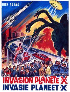 "Vintage Poster ""Invasion Planet X"""