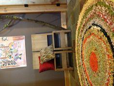 Crocheted rug done!
