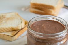Crema de cacao y avellanas. Nocilla o nutella casera | http://danzadefogones.com/crema-de-cacao-y-avellanas-nocilla-o-nutella-casera/