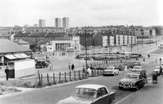 Part of the Castlemilk suburb of Glasgow in the 1960s. Photograph: Juliet Wilson