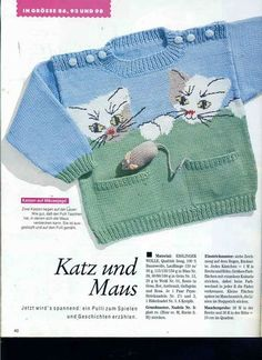 """""""Mix knitting and crochet pattern - Baby toddler \""""Pocket It-A\"""" sweater jumper top"""" Baby Knitting Patterns, Knitting Charts, Knitting For Kids, Crochet For Kids, Knitting Designs, Baby Patterns, Knitting Projects, Crochet Tops, Crochet Projects"""