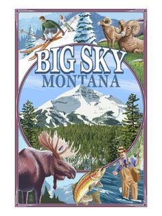 Big Sky, Montana - Scenes