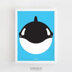 Whale Smile Print