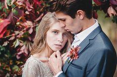 A fairytale autumn wedding inspired editorial | fabmood.com #wedding #autumnwedding #fallwedding #groom #bride #brideandgroom #weddinginspiration #filmwedding #fineartwedding #weddingphotography