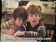 Life cereal commercial from the 1970s. i knew this had to be Mikey...he will eat anything!!