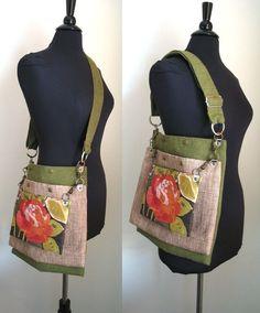 016f81d61 messenger laptop bag crossbody bag school bag carry by daphnenen Bolsas  Artesanais, Bolsas De Escola