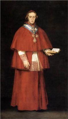 Cardinal Luis Maria de Borbon y Vallabriga - Francisco Goya