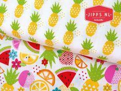 Ananas - Fresh Market Pineapple - Riley Blake Designs Fresh Market, Riley Blake, Pineapple, Sewing Projects, Fabrics, Design, Tejidos, Fabric, Textiles