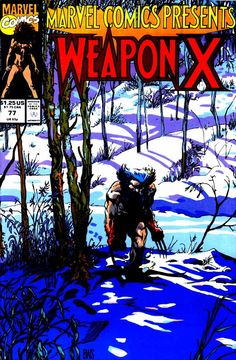 Marvel Comics Presents (vol.1) #77 by Barry Windsor-Smith & Larry Alexander #WeaponX