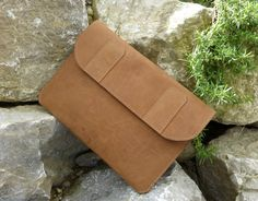 Surface Pro 3 (Organic) Leather Bag NOUGAT - pinned by pin4etsy.com