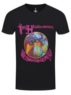 Are you experienced? One of the greatest debut albums in the history of rock, Jimi Hendrix combined rhythm and blues with psychedelic rock to create an electric new sound. Become part of The Jimi Hendrix Experience with this awesome tee. Official merch.