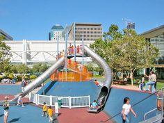 Yerba Buena Gardens, San Francisco. #inspired #playgrounds