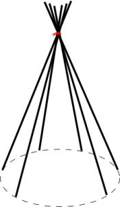 Teepee structure