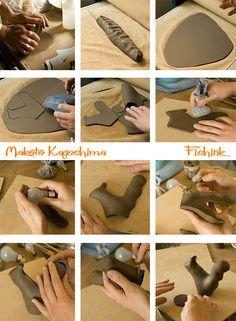 Makoto Kagoshima Japanese Animal Ceramics