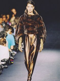 Linda Evangelista at Lanvin Fall 1990