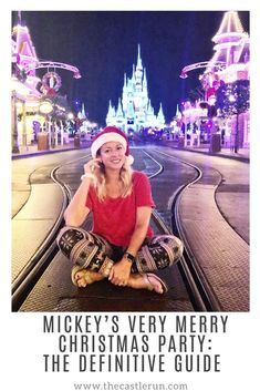 Disney Vacation Planning: 2018 Mickey's Very Merry Christmas Party MVMCP Recap and Definitive Guide